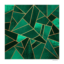 Emerald And Copper
