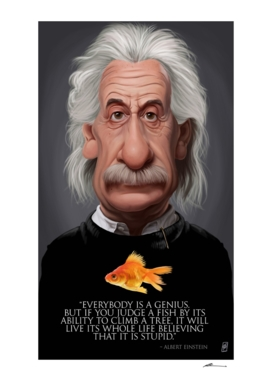 Celebrity Sunday ~ Albert Einstein Fish