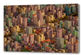 Lowpoly City
