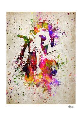 Anthony Kiedis in Color