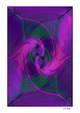 Purple Dragon Swirl