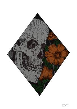 skull & floral