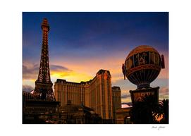 Paris in Las Vegas.