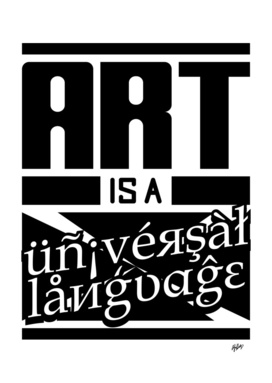 Art is a Universal Language