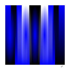In blue light