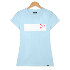 4U (with white stripe background on t-shirt)