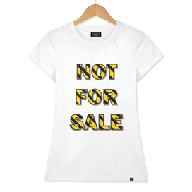NOT FOR SALE C