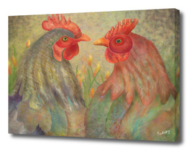 Whatever-Forever-Together_Happy Hens Couple by CraftiesPot