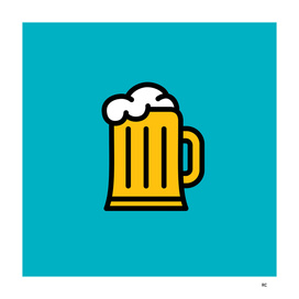 Beer - Icon Prints: Drinks Series