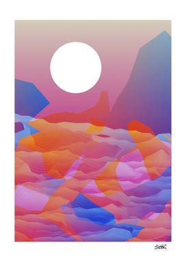 Magic Sunset at D Point