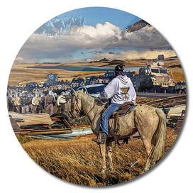 Dakota Access Pipeline Water Protector
