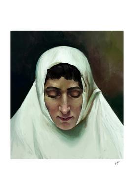 Nun Portrait