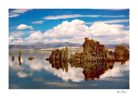 Mono Lake California Tufa Tower Formations