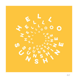 Hello Sunshine!