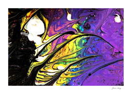 Psychedlic Feathers