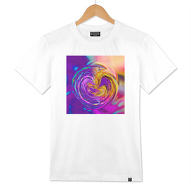 psychedelic graffiti abstract pattern in purple pink