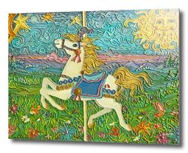 Carousel Horse (in hot glue)
