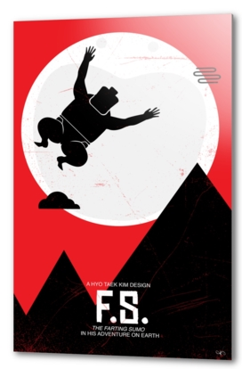Flying Sumo - ET poster