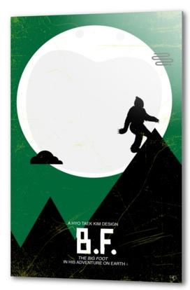 Sasquatch - ET poster