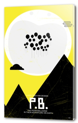 Balloons - ET poster