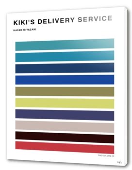 The Colors of KIKI's delivery service