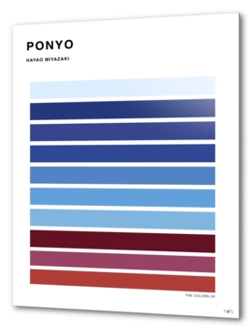 The Colors of Ponyo