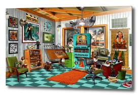 Vintage Art Studio