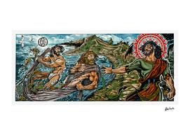 Fishers of men Comic Icon art