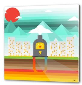Engie Geothermal Energy Poster