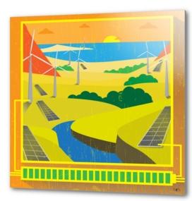 Engie  Renewable energy Poster