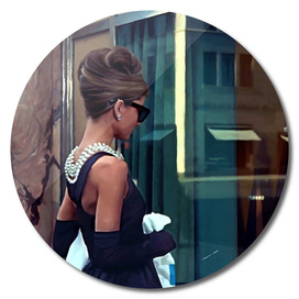 Audrey Hepburn @ Breakfast At Tiffanys #2