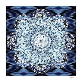 Lace Ikat Mandala