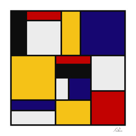 Mondrian De Stijl Art Movement