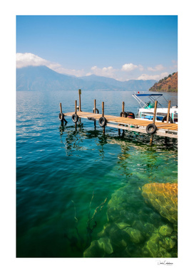 The beauty of nature at Lake Atitlan in Guatemala