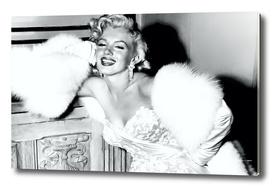 Detail of Marilyn Monroe Portrait #1