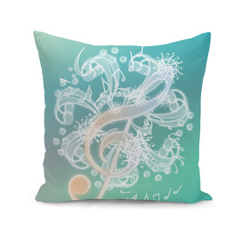 Music Notes - Crystal