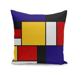 Mondrian De Stijl Art Movement