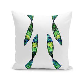 Jeweled Fishes II