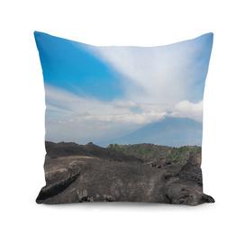 Volcanic rock formations at Pacaya Volcano, Guatemala