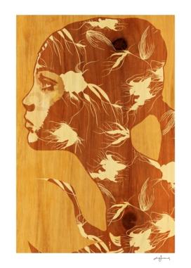 faith on wood