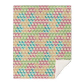 Sugar Cubes Geometric Pattern