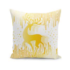 Dancing Deer  - Golden
