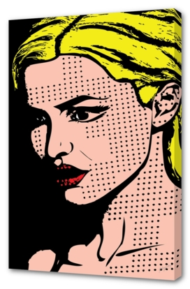 Lady Pop Art