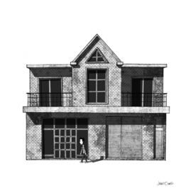 Front View of a House