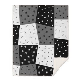 grey black pattern