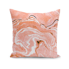 Coral Blush Marble