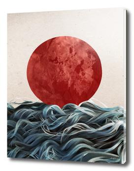 Sunrise In Japan