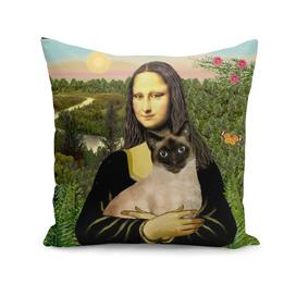 Mona Lisa's Siamese Cat (Choc.Pt)