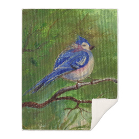 A Bird On The Tree Branch