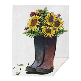 Sunflowers - Sun In Cosmos